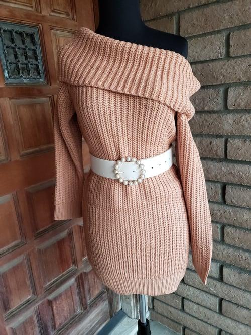 Image of Sweater Dress