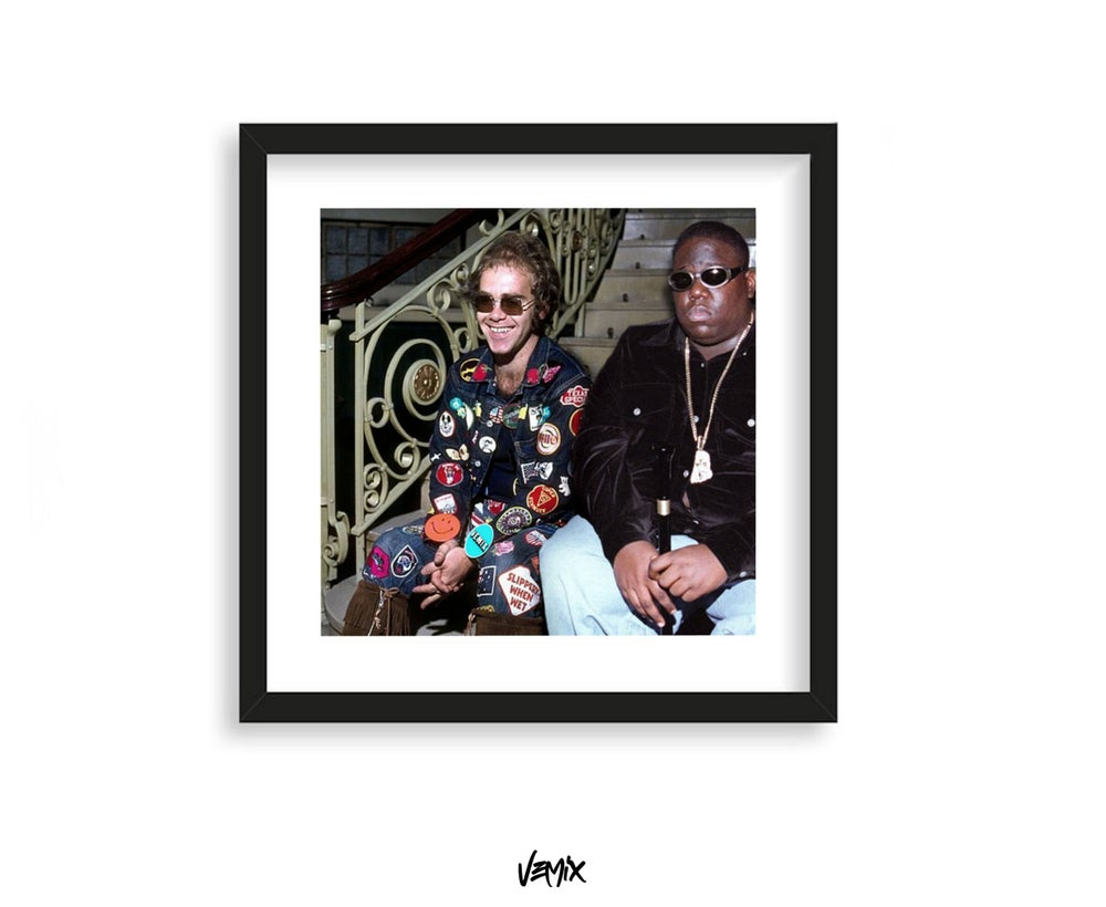 Image of Biggie N The Jets - Print