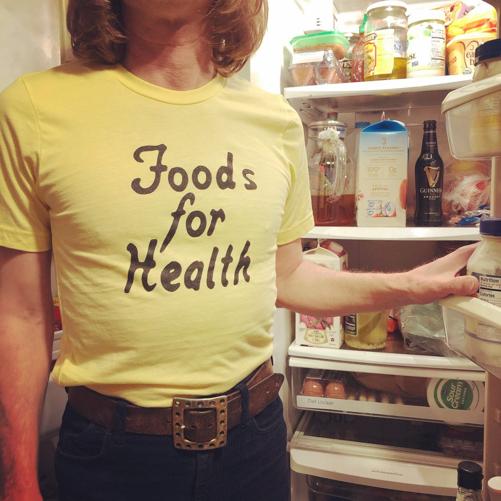 Image of Foods for Health t-shirt