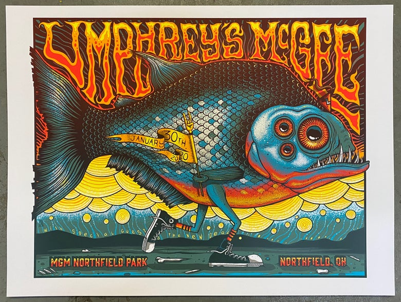 Image of Umphrey's McGee - January 30th, 2020 - Northfield, OH - Artist Edition