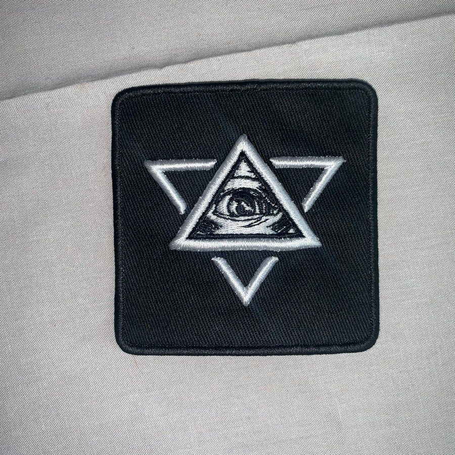 Image of Limited sew in embroidered 3D patch