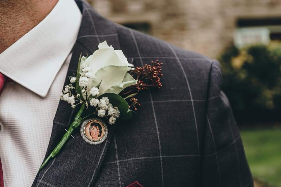 Image of Grooms buttonhole