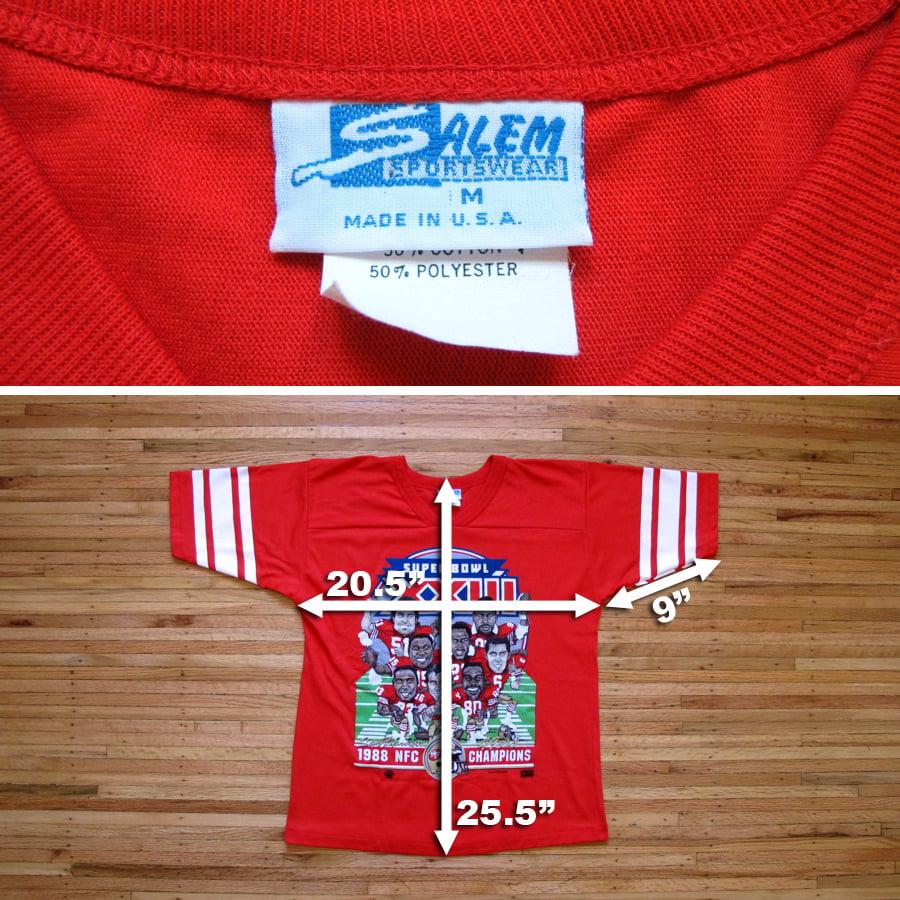 Image of Vintage SB XXIII 49ers t-shirt by SALEM