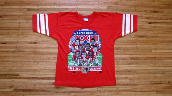 Image of Vintage SB XXIII 49ers t-shirt by SALEM