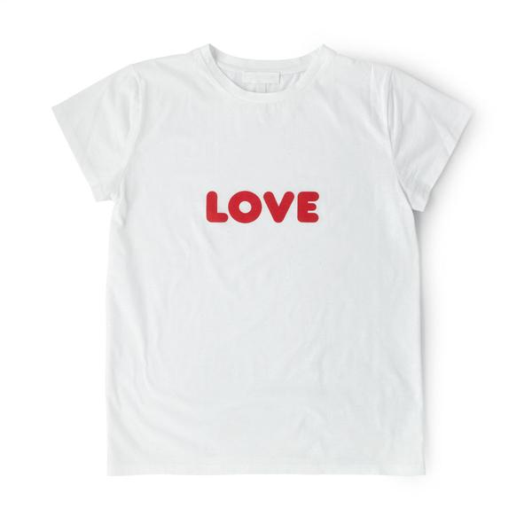 "Image of Zakee Shariff ""Red LOVE"" Pluto T-Shirt"
