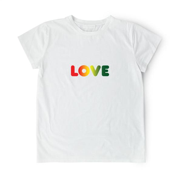 "Image of Zakee Shariff ""RGG LOVE"" Pluto T-Shirt"