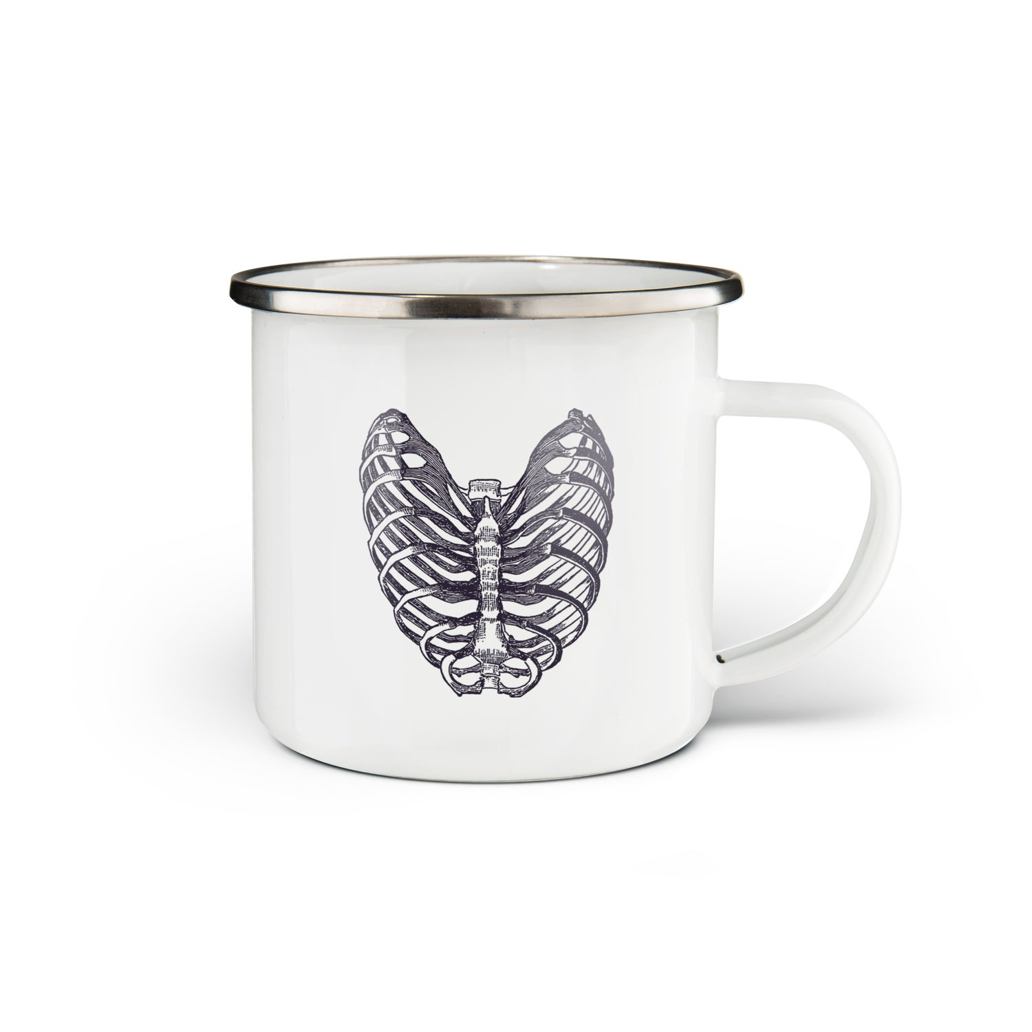 ENAMEL MUG ANATOMIC CHEST