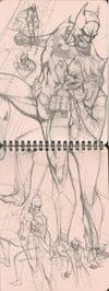 The Ruff Stuff Sketchbook vol. 2 by J. Scott Campbell