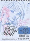 Image of The Ruff Stuff Sketchbook vol. 2 by J. Scott Campbell