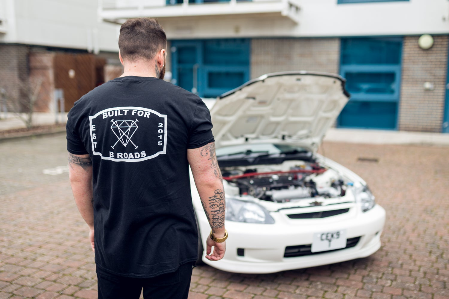 Image of Built For B Roads Tee