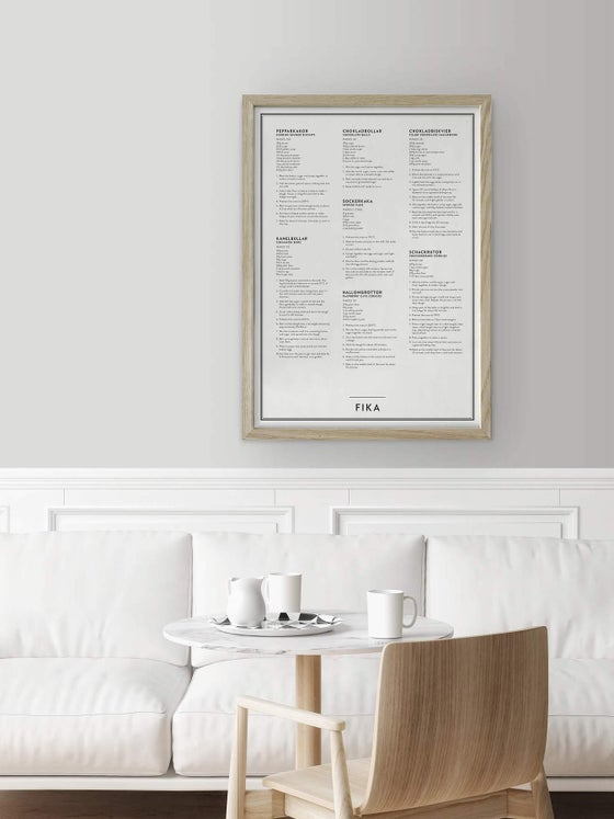 Image of FIKA POSTER