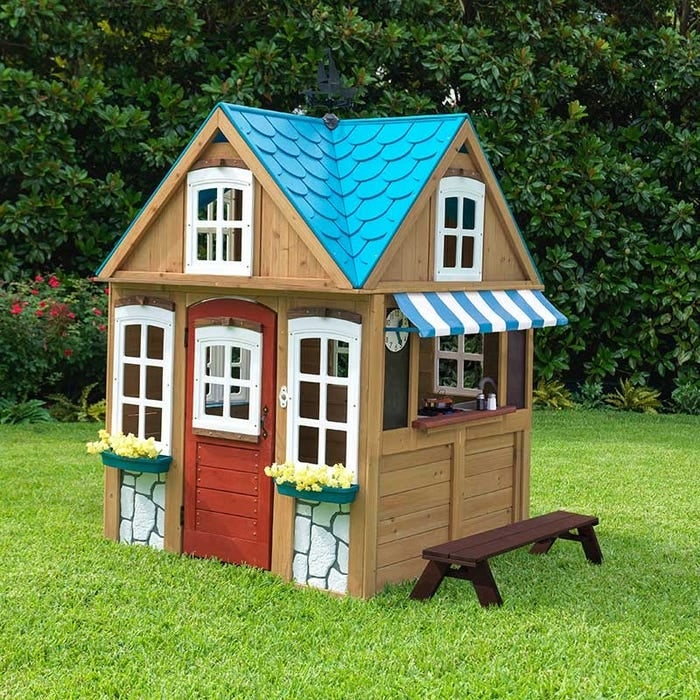 Image of Seaside Cottage Outdoor Playhouse