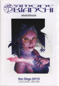 Image of Simone Bianchi Sketchbooks San Diego