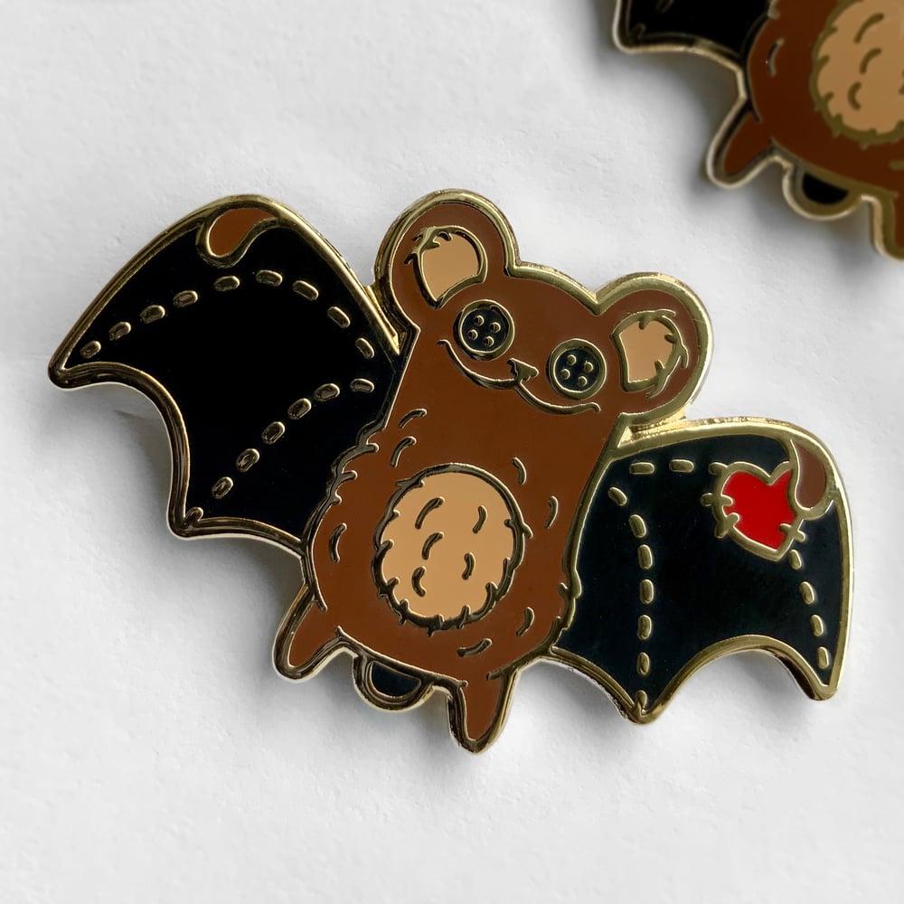 Teddybat Enamel Pin - the ORIGINAL Collectibat!