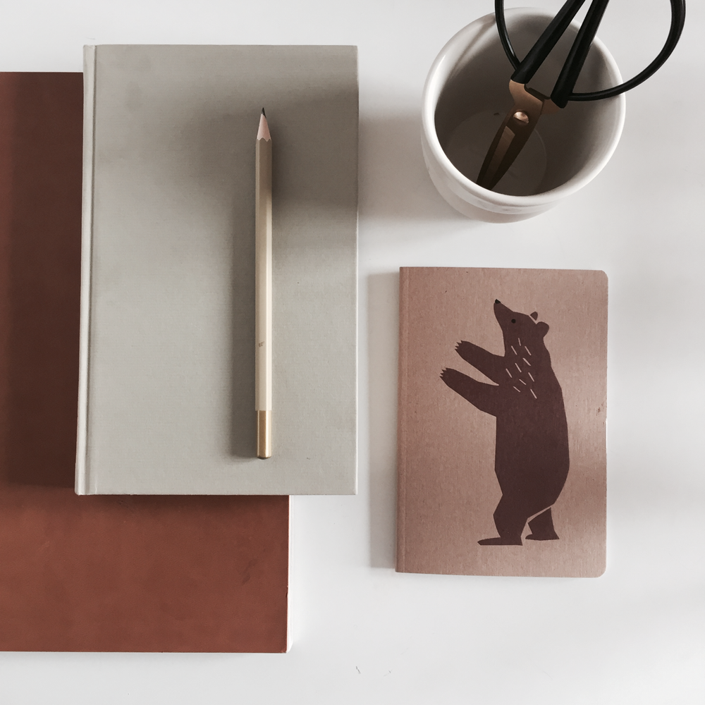 Image of Notebook Brown Bear
