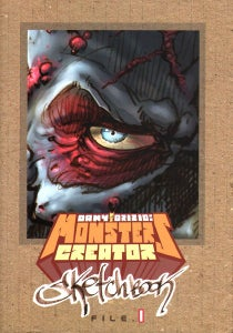 Image of Dany Orizio: Monsters creator Sketchbook File 1