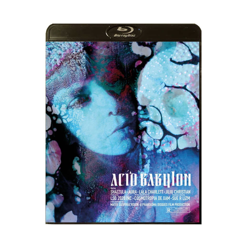 Image of ACID BABYLON, BLU-RAY-R + DVD (HD COLLECTION, DESIGN B) SIGNED AND STAMPED, LIMITED 50