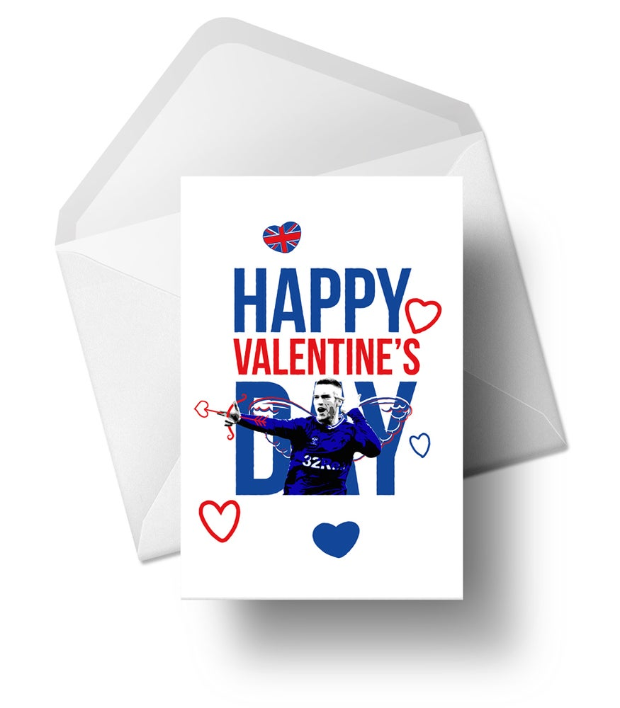 Image of Cupid Ryan Kent - Valentine's Card - LIMITED Quantity available