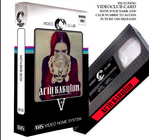 Image of LIMITED 20 ACID BABYLON VHS CLUB EDITION + DVD and MEMBERCARD