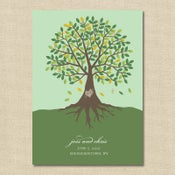 Image of {Jessie} Carved Tree Wedding Invitation