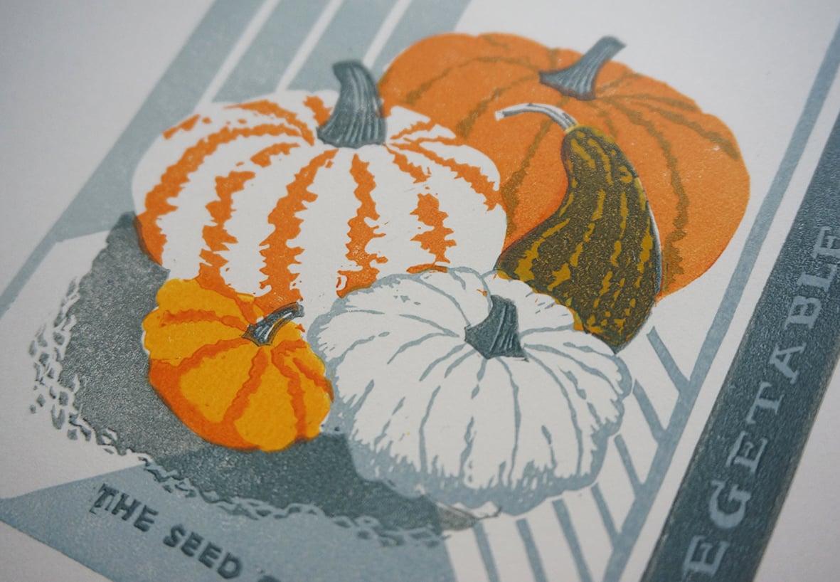 Image of October Print - Squash
