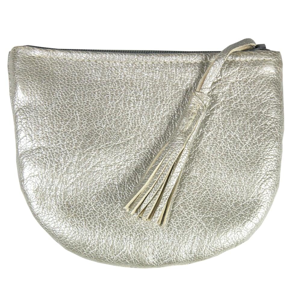 Image of LINDA Ausgehportemonnaie | silver