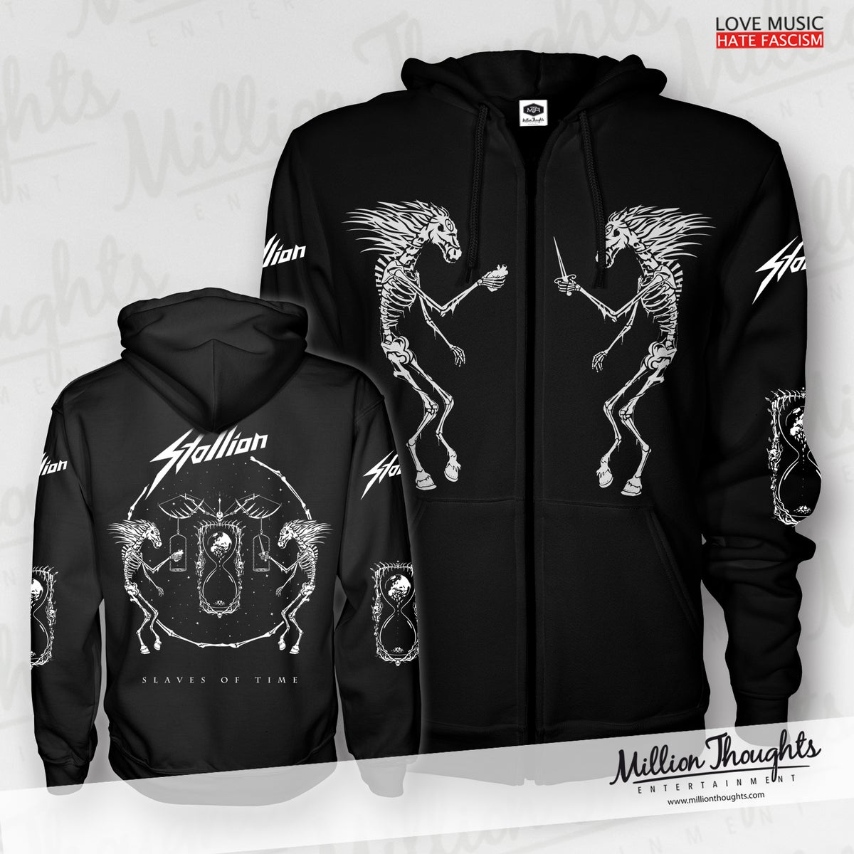 Slaves of Time - Zipper (Hoodie) Regular or Corona Supporter Price