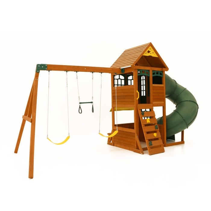 Image of Forest Ridge Playset - Slide & Swing