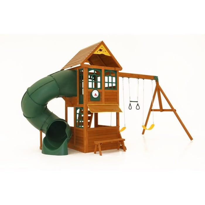 Image of Forest Ridge Playset - Slide & Swing