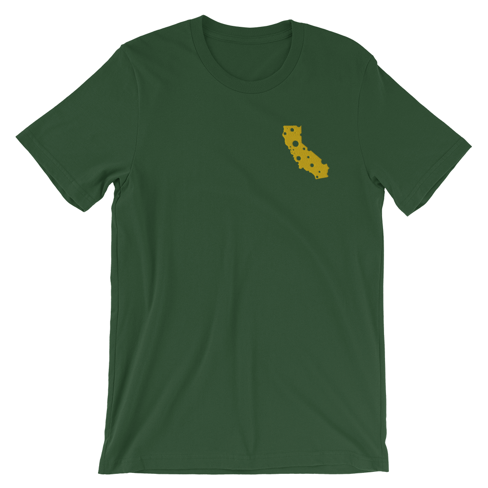 Image of CALIFORNIA CHEESE EMBROIDERED T