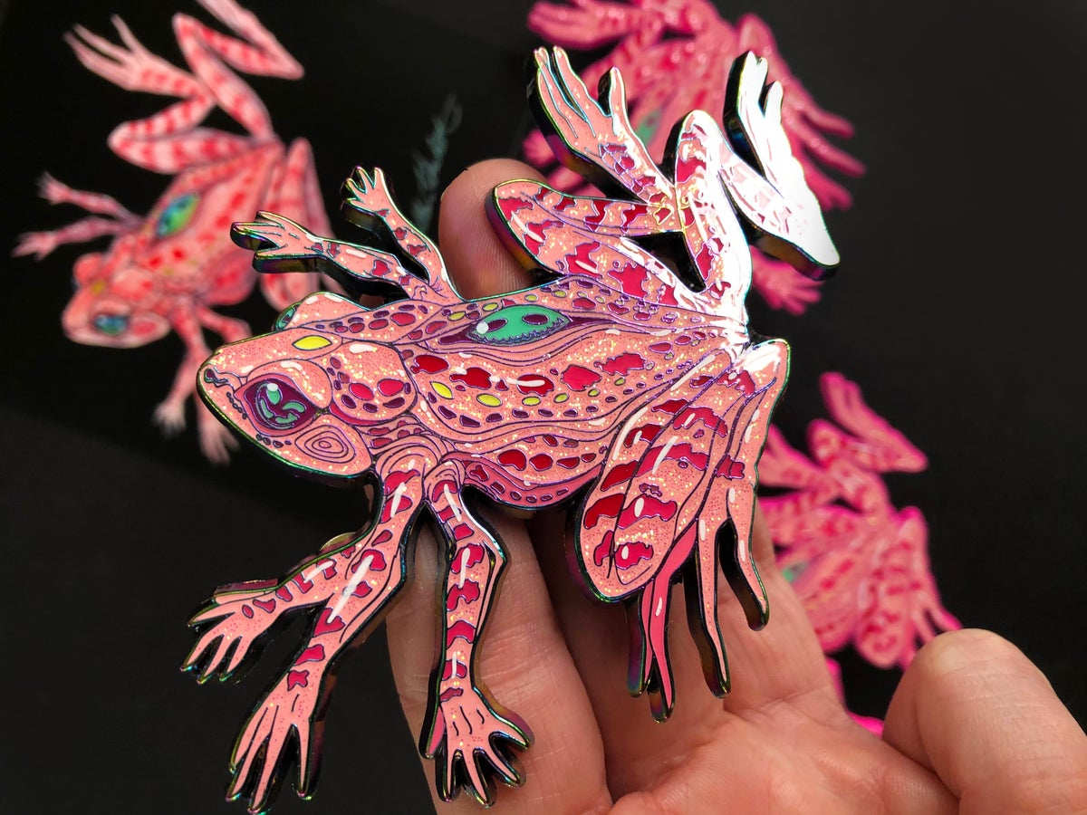 Image of Caitlin Hackett's Magical Cluster Frog!