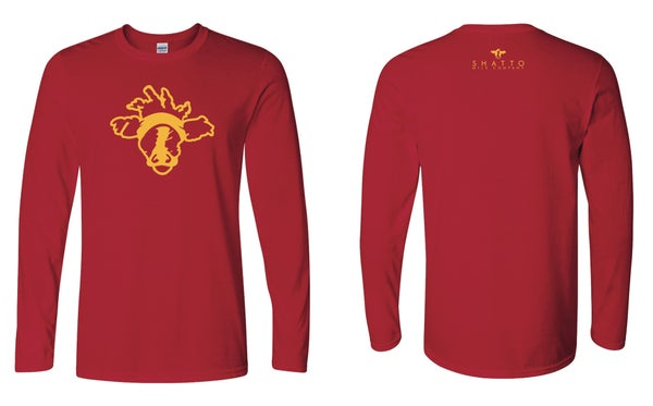 Image of Long Sleeved T - KC Cow