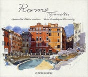 Image of Rome Aquarelles by Fabrice Moireau and Dominique Fernandez