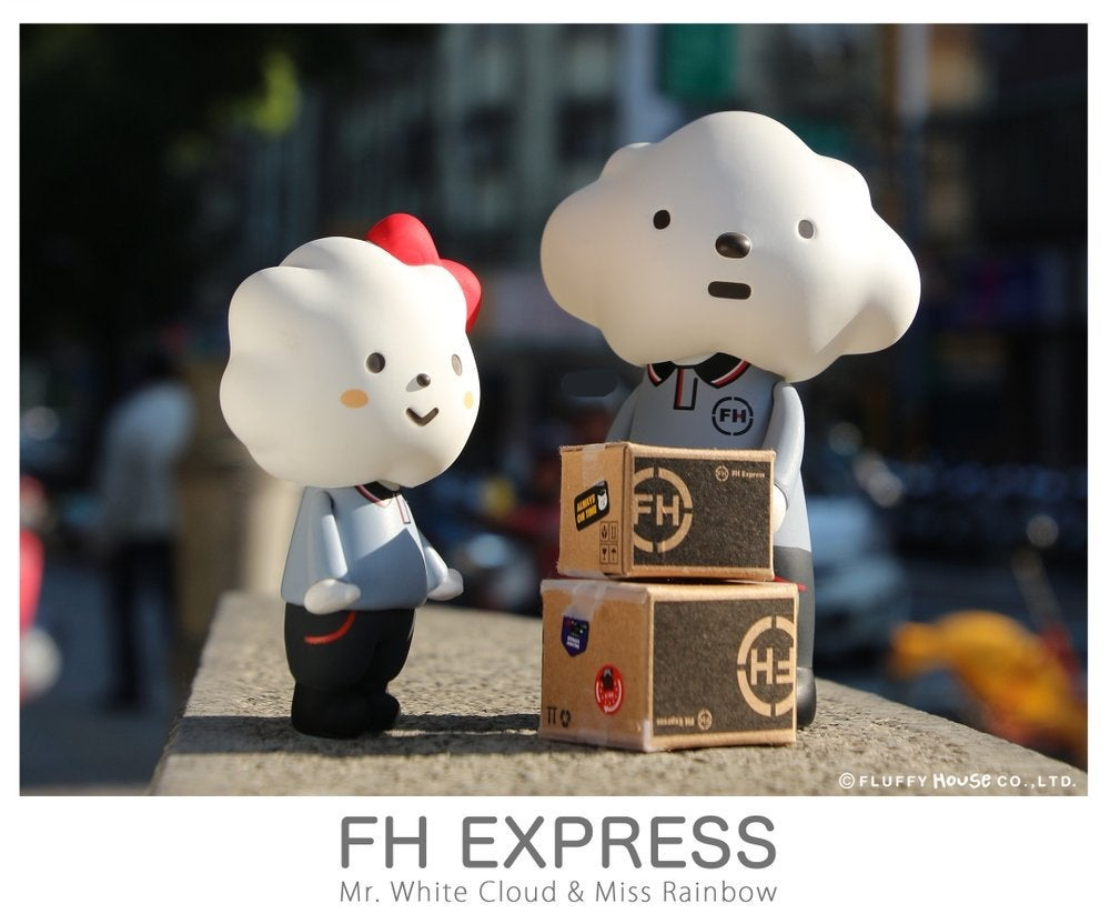 Image of FH Express - Mr. White Cloud & Miss Rainbow