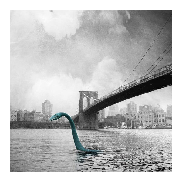 Image of Monster In New York - Loch Ness Monster Art