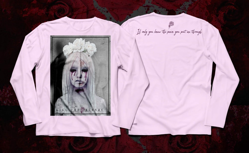 """Image of """"If only you knew"""" pink long sleeve shirt"""