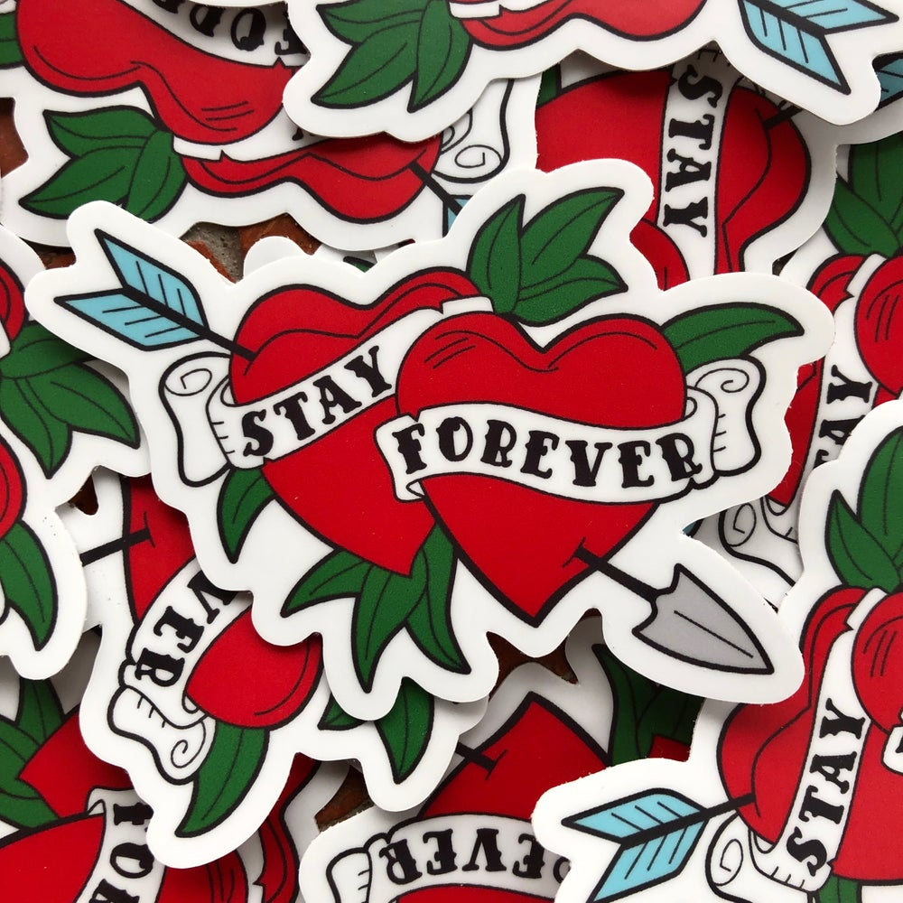 Image of Stay Forever stickers