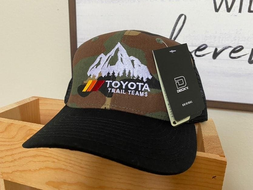 Image of Trail Teams Camo curved bill hat