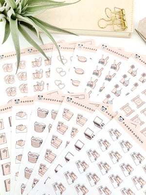 Image of Nude Planner Icons