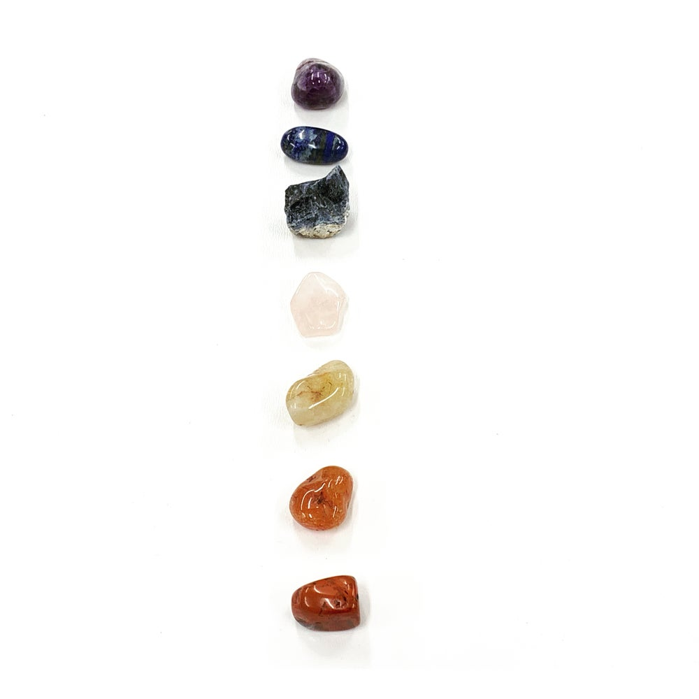 Image of Chakra stones(put stone selection in notes at checkout)