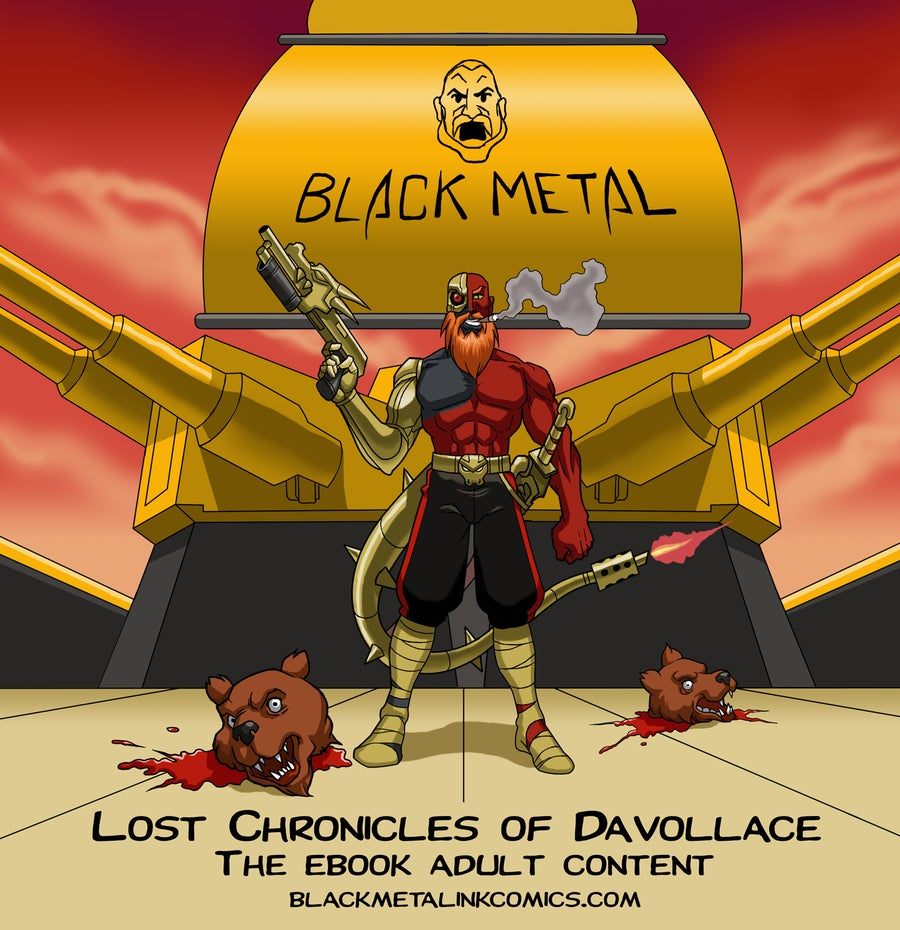 Image of The Lost Chronicles of Davollace, The Savage Pirate - Digital Novel (DOESN'T WORK WITH AMAZON)