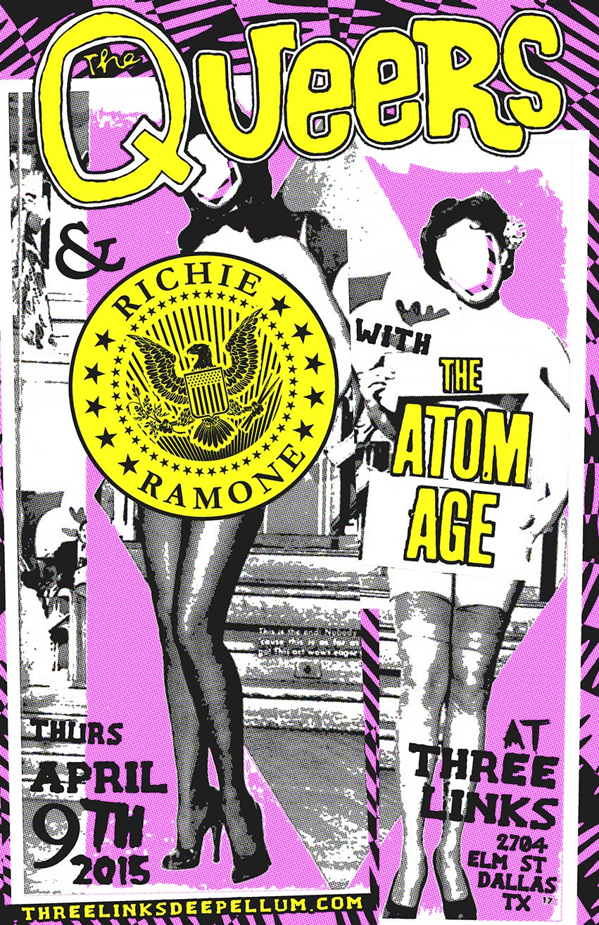 The Queers, Richie Ramone 2015