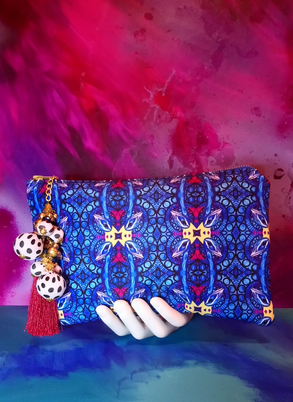 "Image of ""Shawty Lo-Lo"" Clutch in King Pea"