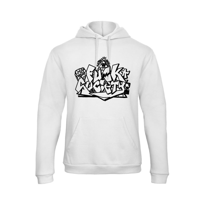 "Hoodie ""Fuck Society"" by Fast Life Label"
