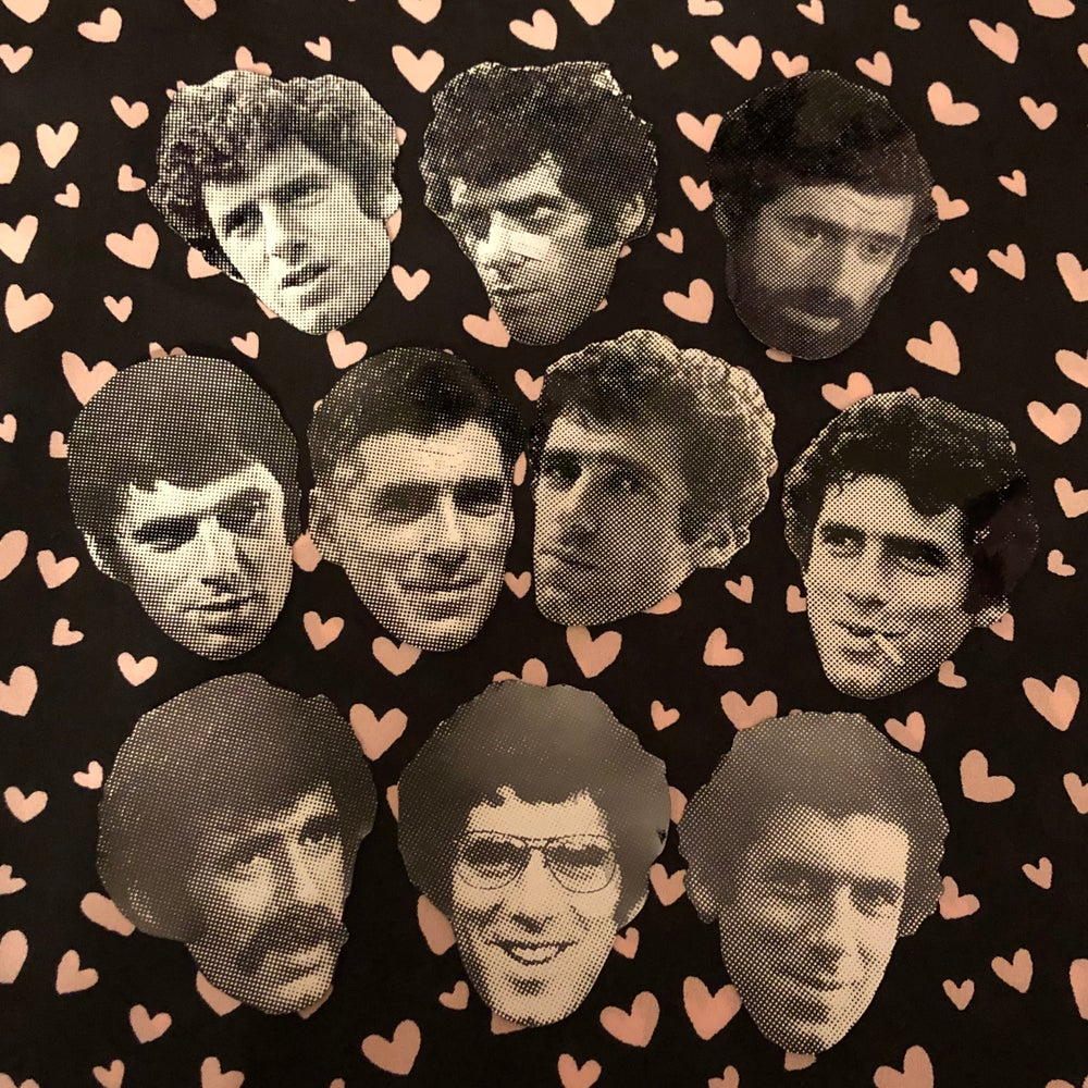 Image of Elliott Gould sticker pack