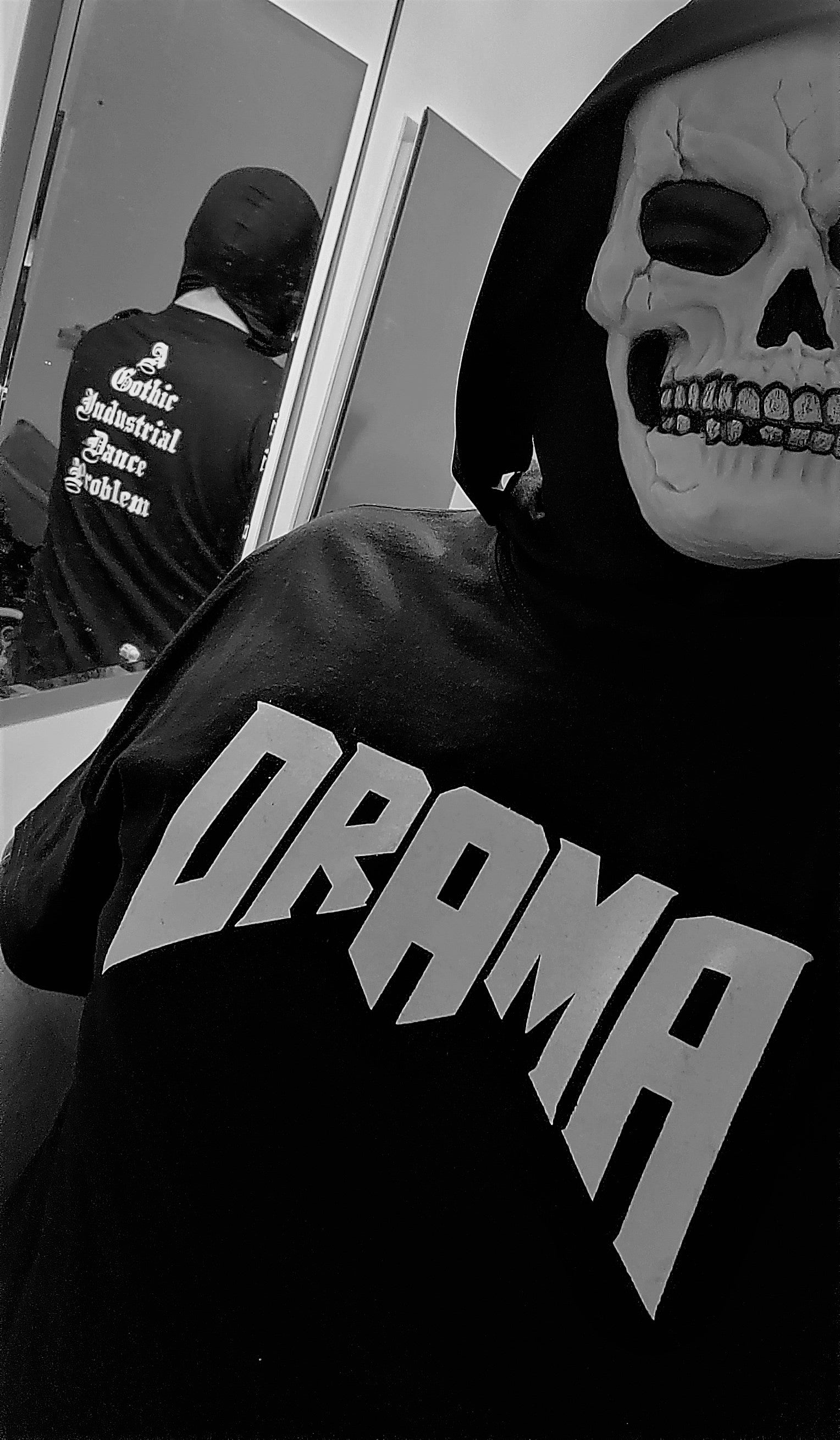 The Official DRAMA shirt!  Buy one today at MINDJACKET.COM!