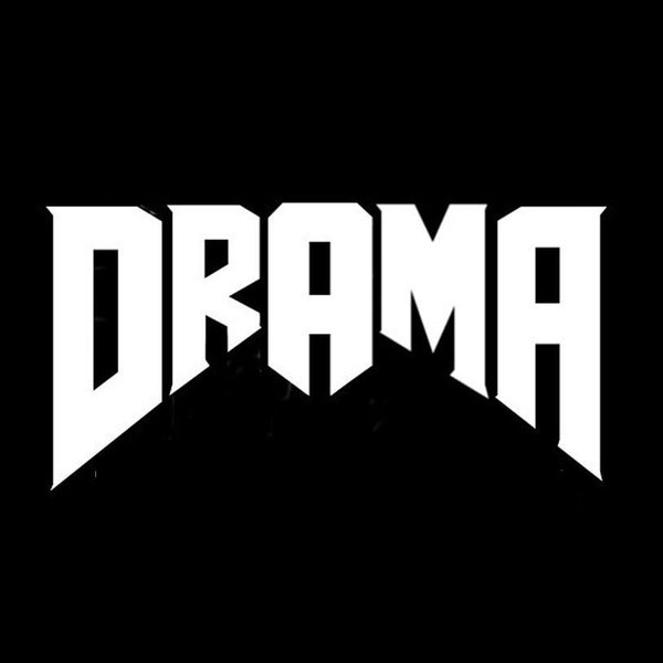 Image of DRAMA! A Gothic/Industrial Dance Problem 2-sided shirt