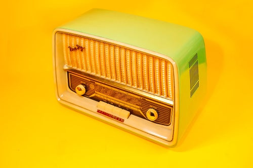 Image of TELEFUNKEN MEKY (1960) RADIO VINTAGE BLUETOOTH