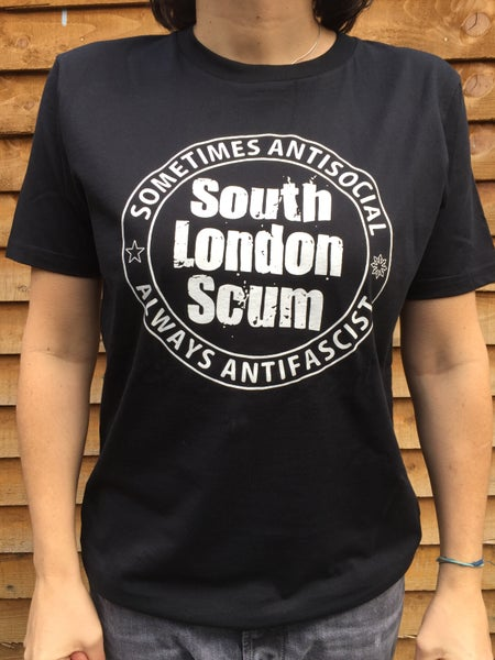 """Image of South London Scum """"Sometimes/Always"""" T-shirt"""