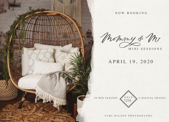 Image of Mommy & Me Mini Sessions - April 19, 2020